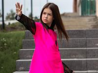 """Неоновый костюм для девочки """"SH-114"""""""