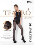 Полупрозрачные эластичные колготки с шортиками (Teatro')