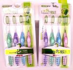 Зубные нано щетки с Зеленым чаем (4 шт)