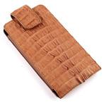 70% скидка Чехол для смартфона из кожи крокодила  KK-1037maxi