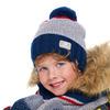 Комплект (шапка+снуд) для мальчика