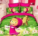 Детское постельное белье 1,5 сатин DET029