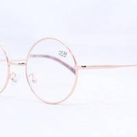 Готовые очки ЕАЕ 588 (49# 20-139) золото размер + 2,25