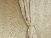Портьера жаккард Ламинарии Артикул: 25/8-68-5 карамель  Ширина рулона: 150 см  Состав ткани: 100% полиэстер