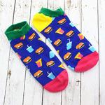 """Короткие носки """"Перекуси"""""""