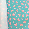 Курточная ткань дюспо 240Т цвет сердечки
