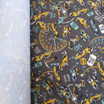 Курточная ткань дюспо-принт 240Т цвет скорость