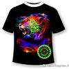Подростковая футболка Леопард 617