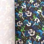 Курточная ткань дюспо 240Т цвет футбол