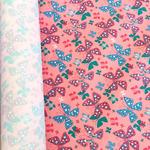 Курточная ткань дюспо 240Т цвет бабочки