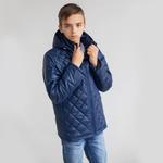 Куртка демисезонная для мальчика, модель Д25 цвет темно-синий/cire