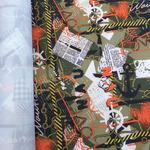 Курточная ткань дюспо 240Т цвет мореход