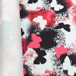 Мембранная ткань Добби Понж 240Т цвет бабочки