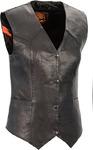 Shaf Ladies Lightweight Classic Four Snap Vest