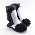 Модель Данилка черно-белый(зима)