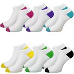 """Женские укороченный носки """"Цветные пятки"""""""