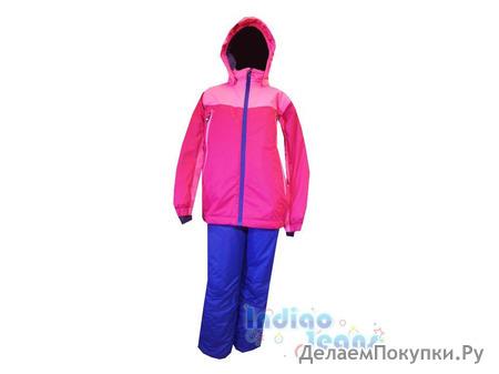Яркий горнолыжный костюм, для девочек, Color Kids(Дания)