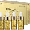 Bergamo Luxury Gold Caviar Wrinkle Care Intense Repair Ampoule Сыворотка ампульная с золотом и коллагеном для интенсивного восстановления кожи, 13 мл *4
