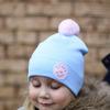 Хлопковая шапочка без завязок