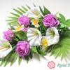 ДИННЕ Букет роза+калла веерный 12 веток