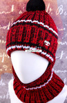Комплект подростковый (шапка+снуд) №ШЛ396-5