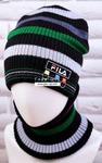 Комплект подростковый (шапка+снуд) №ШЛ357