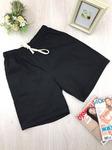 Женские шорты большой размер черные