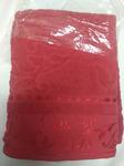 Комплект из 3 полотенцев жаккард красный