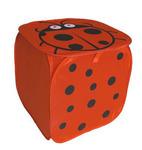 Сумка д/игрушек квадрат R4001 Божья коровка 45х45 см