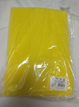 Полотенце махровое жёлтое 70х140 см
