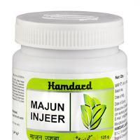 Маджун Инжеер, для нормализации пищеварения, 125 г, Хамдард; Majun Injeer, 125 g, Hamdard