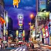 Картина по номерам Paintboy «красота ночного нью-йорка»