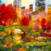 Картина по номерам Paintboy «сентрал-парк в нью-йорке»