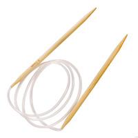 Спицы круговые для вязания бамбук (обожженный)