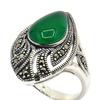 Серебряное кольцо, артикул 210007-39-197