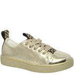 Туфли закрытые для девочек KENKA LMO_24-675 золото