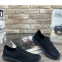 Мужские кроссовки 9184-2 черные