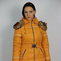 Куртка утепленная Плащевка Горчица