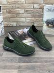 Мужские кроссовки 9184-8 зеленые