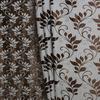 Блэкаут двусторонний Листики Артикул: 37/1687-2-3 коричневый Состав ткани: 100% полиэстер Ширина рулона: 2,8 м