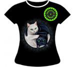 Женская футболка Инь Янь 1077 ST