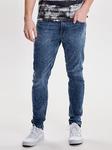 Джинсы джинсовой ткани skinny fit в эластичной ткани, длина US 32