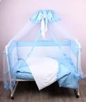 Комплект в кровать (Голубой)