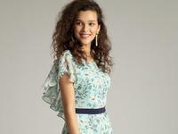 Шифоновое платье PL896/willy