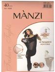 Колготки MANZI 16289 классические не рвущиеся 40 den р-р 5(XL) nero