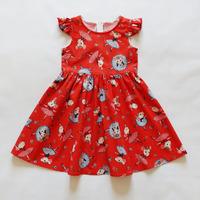 """Поплиновое платье для девочки """"Мышки-балерины"""" (лимитированная модель)"""