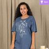 Комплект женский КТК-322 серо-синий