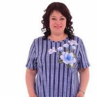 Платье женское (голубой) №НК-4-55