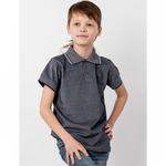 Рубашка-поло пике 876п/п ап для мальчика