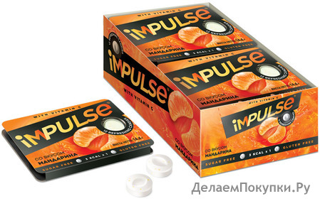 Пастилки iMPULSE со вкусом мандарина